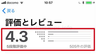 App Store に投稿されている インスタント のレビューのまとめ